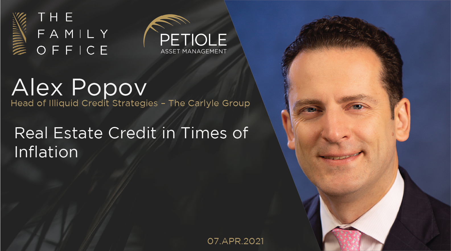 Alex Popov | Real Estate Credit in Times of Inflation