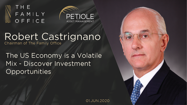 Robert Castrignano | The US Economy Is A Volatile Mix - Discover Investment Opportunities
