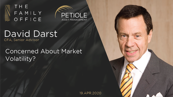 David Darst | Concerned About Market Volatility?